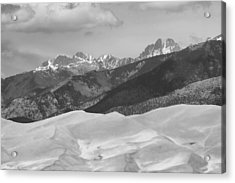 The Great Sand Dunes Bw Print 45 Acrylic Print by James BO  Insogna