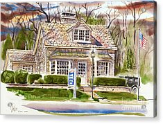 The Greystone Inn In Brigadoon Acrylic Print by Kip DeVore
