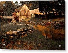 The Hammond Gristmill Acrylic Print by Lourry Legarde