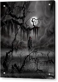 The Hangman Acrylic Print by James Christopher Hill