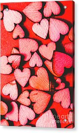 The Heart Of Decor Acrylic Print by Jorgo Photography - Wall Art Gallery