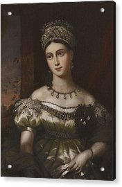 The Hereditary Duchess Of Saxe Gotha Altenburg Acrylic Print by MotionAge Designs