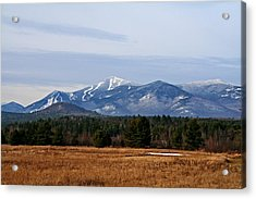 The High Peaks Acrylic Print by Heather Allen