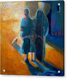 The Holy Family Acrylic Print by Daniel Bonnell