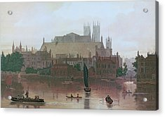 The Houses Of Parliament Acrylic Print by George Fennel Robson