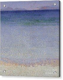 The Iles Dor Acrylic Print by Henri Edmond Cross