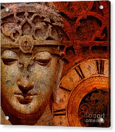 The Illusion Of Time Acrylic Print by Christopher Beikmann
