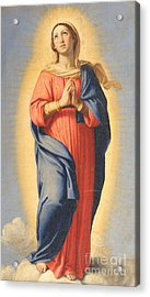 The Immaculate Conception Acrylic Print by Il Sassoferrato