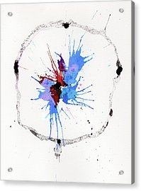 The Inexplicable Ignition Of Time Expanding Into Free Space Phase Two Number 05 Acrylic Print by Mark M  Mellon
