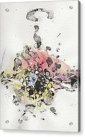 The Inexplicable Ignition Of Time Expanding Into Free Space Phase Two Number 10 Acrylic Print by Mark M  Mellon