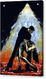 The Intoxication Of Tango Acrylic Print by Richard Young