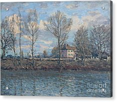The Isle Of Grande Jatte Acrylic Print by Celestial Images