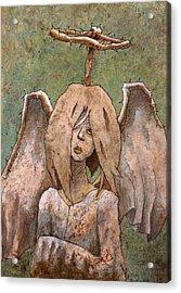 The Jaded Angel Acrylic Print by Ethan Harris