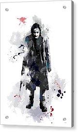 The Joker Acrylic Print by Marlene Watson