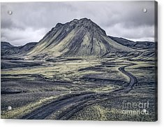 The Journey Is The Destination Acrylic Print by Evelina Kremsdorf