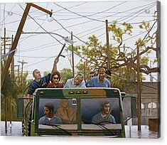 The Katrina Aftermath Acrylic Print by Curtis James
