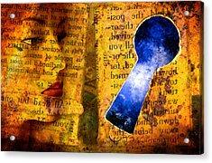 The Key Hole Acrylic Print by Andre Giovina