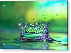 The Kings Crown Acrylic Print by Darren Fisher