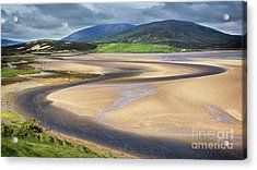 The Kyle Of Durness Acrylic Print by Janet Burdon