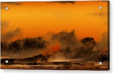 The Land Of The Iroquois Acrylic Print by Geoff Simmonds