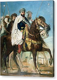 The Last Caliph Of Constantine Acrylic Print by Theodore Chasseriau