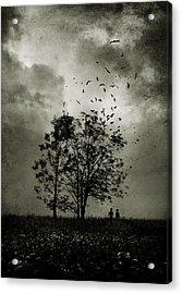 The Last Day Acrylic Print by Cambion Art