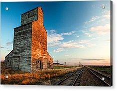 The Last Light At Laredo Acrylic Print by Todd Klassy