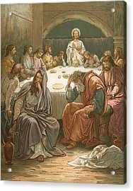 The Last Supper Acrylic Print by John Lawson