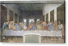 The Last Supper Acrylic Print by Leonardo da Vinci