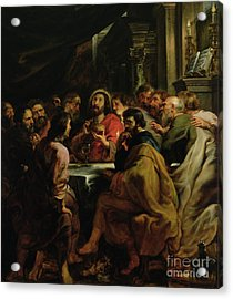 The Last Supper Acrylic Print by Rubens