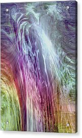 The Light Of The Spirit Acrylic Print by Linda Sannuti