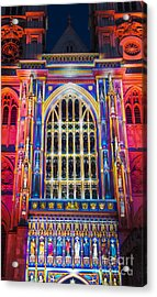 The Light Of The Spirit Westminster Abbey London Acrylic Print by Tim Gainey