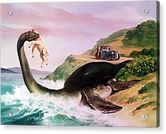 The Loch Ness Monster Acrylic Print by Gino DAchille