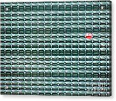 The Lone Red Seat At Fenway Park Acrylic Print by Keith Ptak