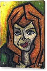 The Look Acrylic Print by Kamil Swiatek