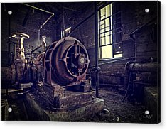 The Machine Acrylic Print by Everet Regal