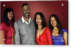 The Montgomery Family Portrait Acrylic Print by Reggie Duffie