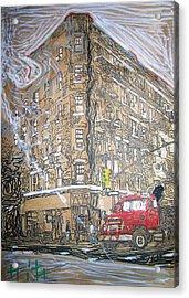 The Morning Acrylic Print by Jacob  Hitt