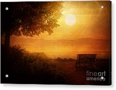 Acrylic Print featuring the photograph The Morning View by Joel Witmeyer