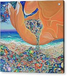 The Multiverses Acrylic Print by Marika Segal