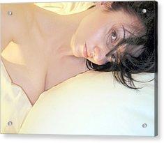 The Natural - Self Portrait Acrylic Print by Jaeda DeWalt