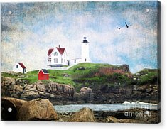 The Nubble Acrylic Print by Darren Fisher