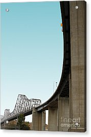 The Old Carquinez Bridge . 7d8832 Acrylic Print by Wingsdomain Art and Photography