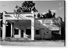 The Old Greyhound Station Acrylic Print by David Lee Thompson