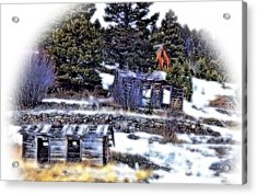 The Old Neighborhood Acrylic Print by Susan Kinney