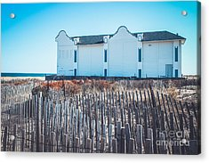The Old North End Hotel Acrylic Print by Colleen Kammerer
