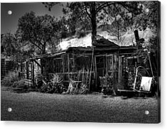 The Old Shed II Acrylic Print by David Patterson
