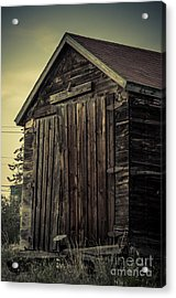 The Old Shed Acrylic Print by Lisa Killins