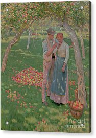 The Orchard Acrylic Print by Nelly Erichsen