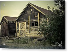 The Other Old Shed Acrylic Print by Lisa Killins